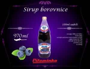 sirupBorovnica