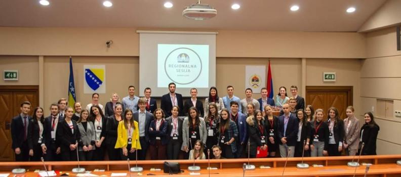 Pomoć pri realizaciji Regionalnog Foruma Evropskog Parlamenta Mladih
